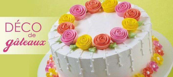 décorer un gâteau