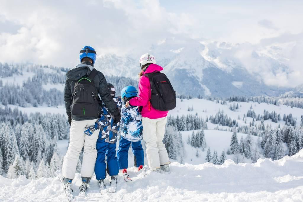 ski famille bus